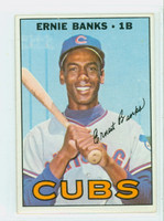 1967 Topps Baseball 215 Ernie Banks Chicago Cubs Very Good