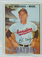 1967 Topps Baseball 228 Gil Hodges Washington Senators Excellent