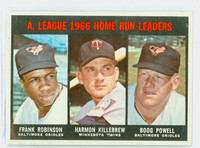 1967 Topps Baseball 243 AL HR Leaders Good to Very Good