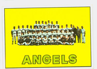 1967 Topps Baseball 327 Angels Team Very Good to Excellent