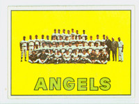 1967 Topps Baseball 327 Angels Team Excellent