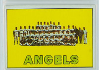 1967 Topps Baseball 327 Angels Team Excellent to Excellent Plus