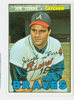 1967 Topps Baseball 350 Joe Torre Atlanta Braves Fair to Good