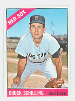 1966 Topps Baseball 6 Chuck Schilling Boston Red Sox Excellent to Mint