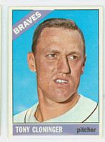 1966 Topps Baseball 10 Tony Cloninger Atlanta Braves Excellent