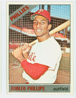1966 Topps Baseball 32 Adolfo Phillips Philadelphia Phillies Excellent