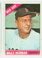 1966 Topps Baseball 37 Billy Herman Boston Red Sox Excellent