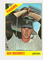 1966 Topps Baseball 38 Ray Nischwitz Detroit Tigers Excellent to Excellent Plus
