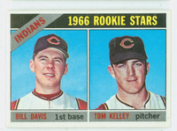 1966 Topps Baseball 44 Indians Rookies Excellent to Mint