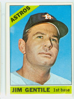 1966 Topps Baseball 45 Jim Gentile Houston Astros Excellent