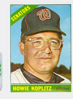 1966 Topps Baseball 46 Howie Koplitz Washington Senators Excellent