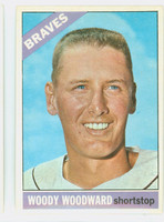 1966 Topps Baseball 49 Woody Woodward Atlanta Braves Excellent