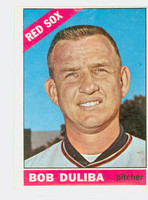 1966 Topps Baseball 53 Bob Duliba Boston Red Sox Excellent