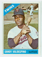 1966 Topps Baseball 56 Sandy Valdespino Minnesota Twins Excellent to Mint