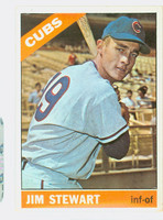 1966 Topps Baseball 63 Jim Stewart Chicago Cubs Excellent