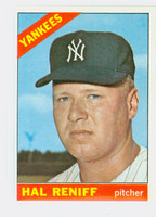 1966 Topps Baseball 68 Hal Reniff New York Yankees Excellent to Mint