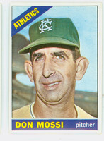 1966 Topps Baseball 74 Don Mossi Kansas City Athletics Excellent