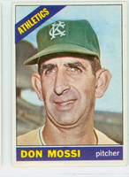 1966 Topps Baseball 74 Don Mossi Kansas City Athletics Excellent to Mint
