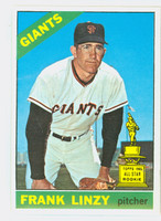 1966 Topps Baseball 78 Frank Linzy San Francisco Giants Excellent to Excellent Plus