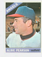 1966 Topps Baseball 83 Albie Pearson California Angels Excellent to Mint