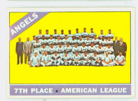 1966 Topps Baseball 131 Angels Team Very Good to Excellent