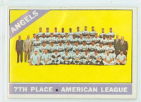1966 Topps Baseball 131 Angels Team Excellent to Excellent Plus