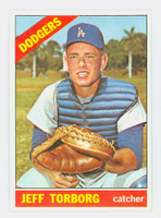 1966 Topps Baseball 257 Jeff Torborg Los Angeles Dodgers Near-Mint