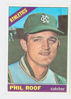 1966 Topps Baseball 382 Phil Roof Kansas City Athletics Excellent to Mint