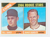 1966 Topps Baseball 392 Cubs Rookies Excellent to Excellent Plus