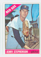 1966 Topps Baseball 396 Jerry Stephenson Boston Red Sox Excellent to Mint