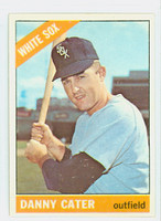 1966 Topps Baseball 398 Danny Cater Chicago White Sox Excellent to Mint