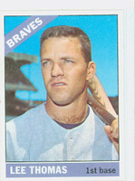 1966 Topps Baseball 408 Lee Thomas Atlanta Braves Excellent to Mint