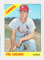 1966 Topps Baseball 418 Phil Gagliano St. Louis Cardinals Excellent to Mint