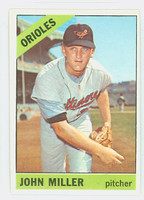1966 Topps Baseball 427 John Miller Baltimore Orioles Excellent to Mint