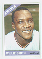 1966 Topps Baseball 438 Willie Smith California Angels Excellent to Mint