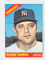 1966 Topps Baseball 439 Pedro Ramos New York Yankees Excellent to Excellent Plus