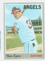 1970 Topps Baseball 4 Tom Egan California Angels Very Good to Excellent
