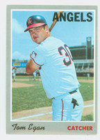 1970 Topps Baseball 4 Tom Egan California Angels Excellent