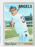 1970 Topps Baseball 4 Tom Egan California Angels Excellent to Excellent Plus