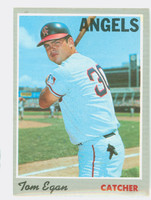 1970 Topps Baseball 4 Tom Egan California Angels Excellent to Mint