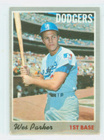 1970 Topps Baseball 5 Wes Parker Los Angeles Dodgers Very Good