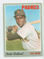1970 Topps Baseball 11 Nate Colbert San Diego Padres Very Good to Excellent