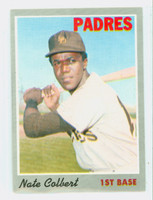 1970 Topps Baseball 11 Nate Colbert San Diego Padres Excellent to Mint