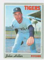 1970 Topps Baseball 12 John Hiller Detroit Tigers Excellent to Mint