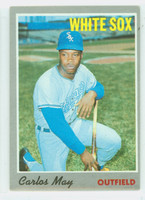 1970 Topps Baseball 18 Carlos May Chicago White Sox Very Good