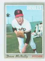 1970 Topps Baseball 20 Dave McNally Baltimore Orioles Excellent