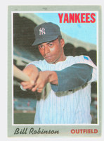 1970 Topps Baseball 23 Bill Robinson New York Yankees Very Good to Excellent