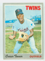 1970 Topps Baseball 25 Cesar Tovar Minnesota Twins Very Good to Excellent