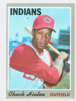 1970 Topps Baseball 27 Chuck Hinton Cleveland Indians Excellent to Mint