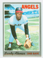 1970 Topps Baseball 29 Sandy Alomar California Angels Excellent to Mint